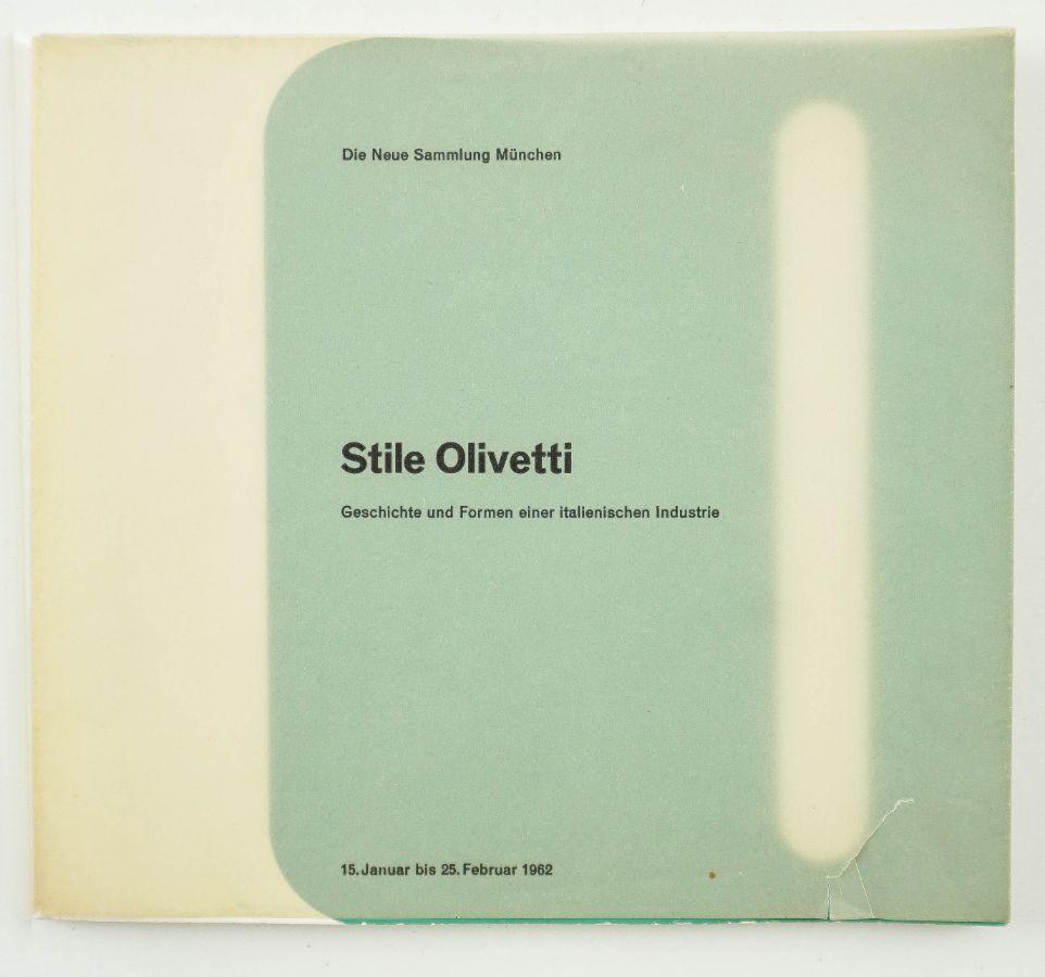 Stile Olivetti, catálogo exposição 1962