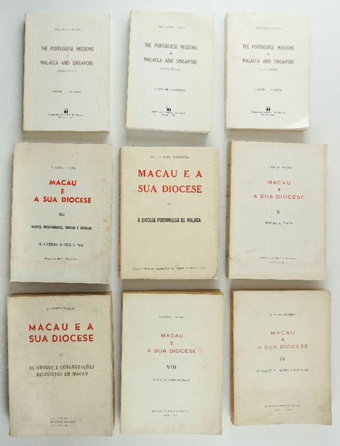 Livros sobre Oriente / Macau