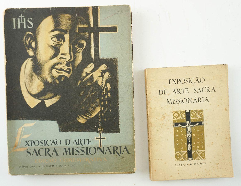 2 livros de arte sacra