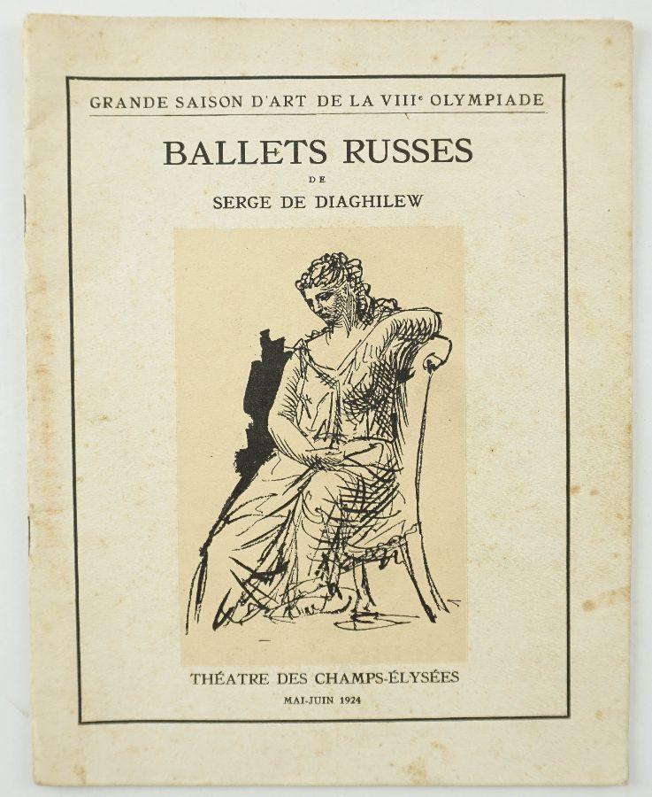 Ballet Russes de Serge de Diaghilew – Raro Programa 1924