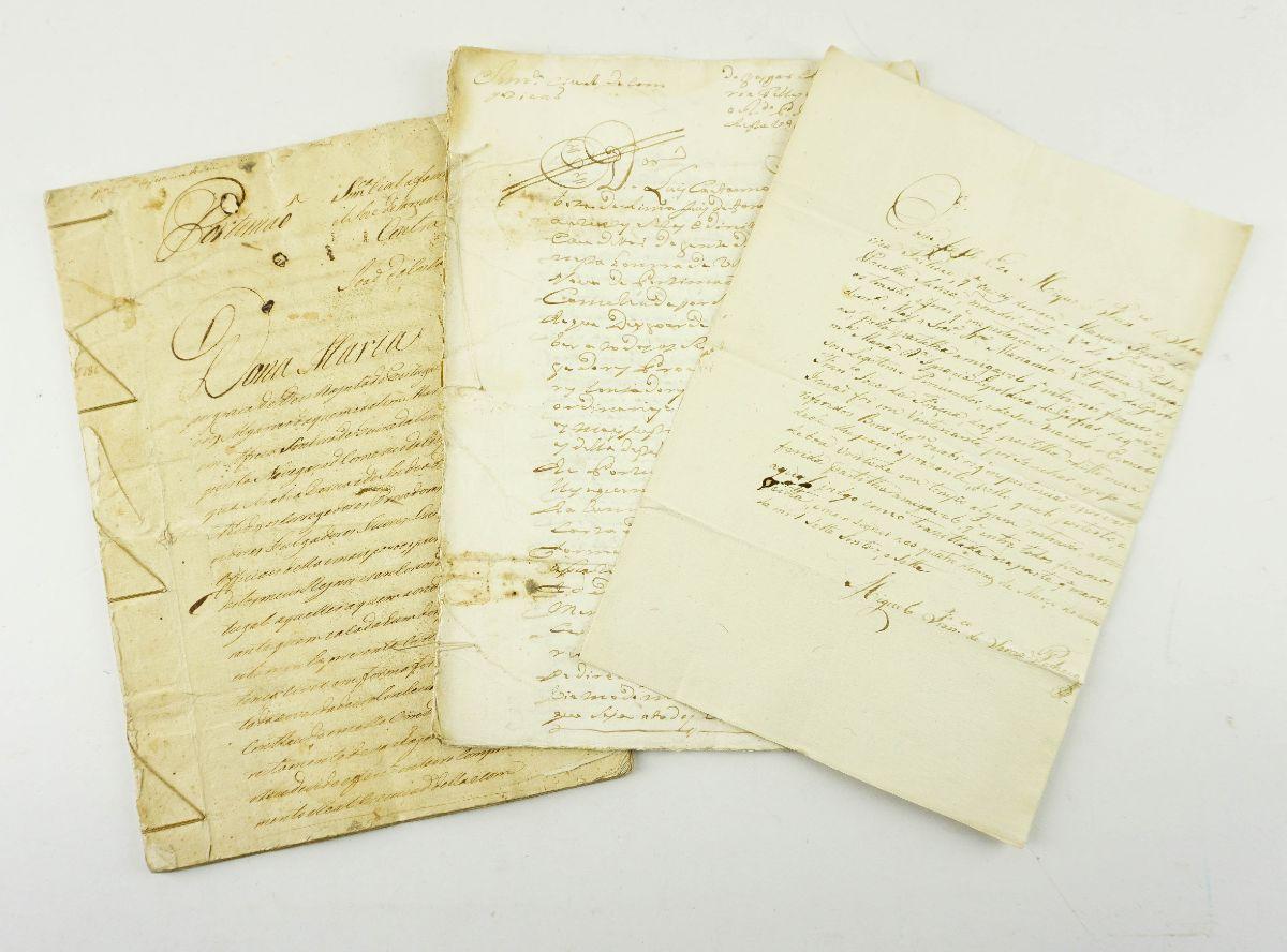 3 ESCRITURAS. PORTIMÃO. SÁRREAS. 1707 - 1787