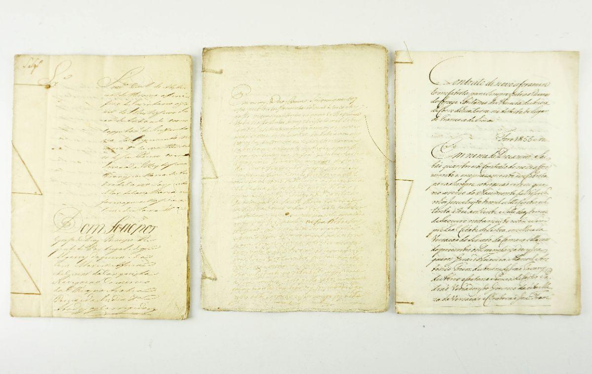 ANDRADE CORVO - VÁRIAS ESCRITURAS. 1773 - 1814