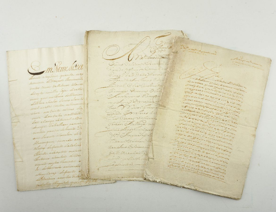 SANCHES DE BAENA - MANUSCRITOS DIVERSOS. 1707 - 1766