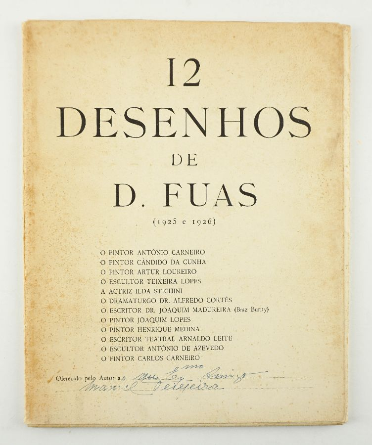 12 Desenhos de D. Fuas (1925-1926)