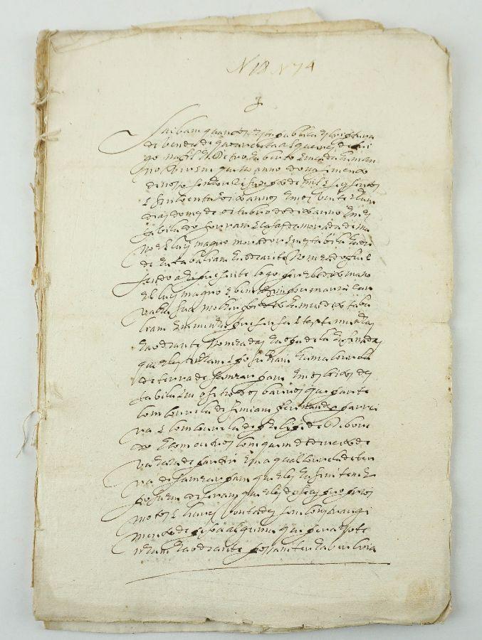 GRANDOLA, TORRÃO E CASA BRANCA. 3 ESCRITURAS ANTIGAS. 1653-1659