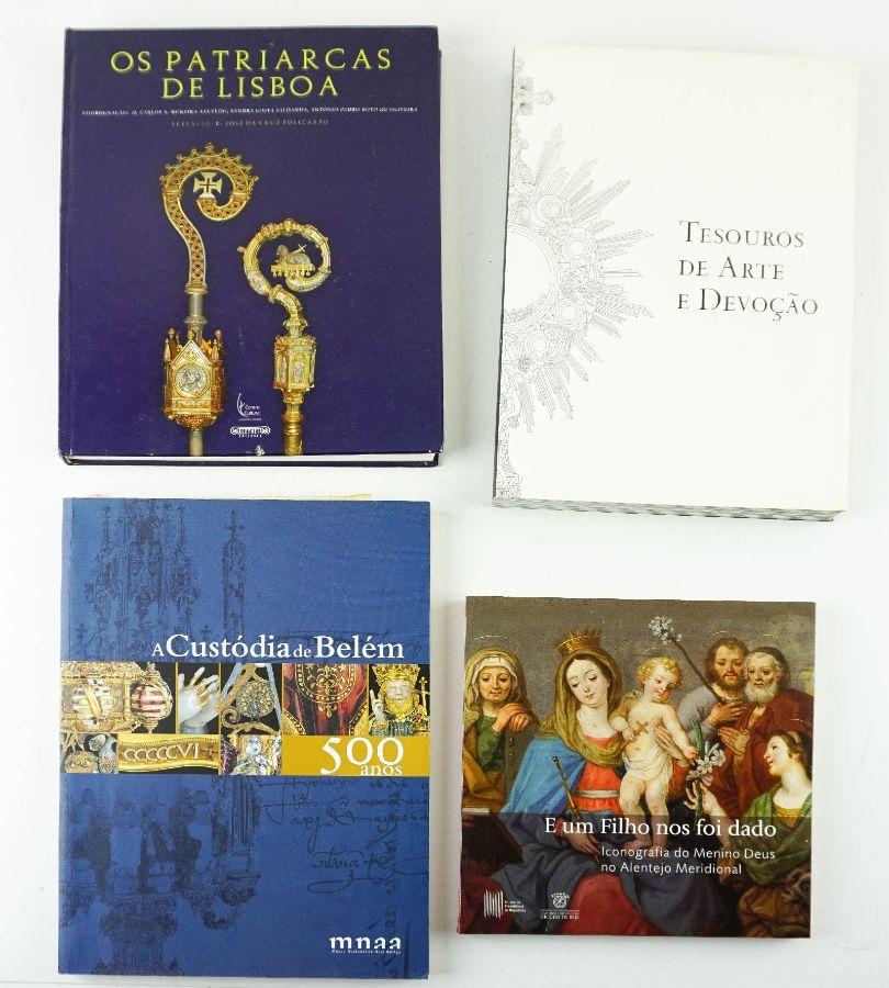 4 Livros sobre Arte Sacra