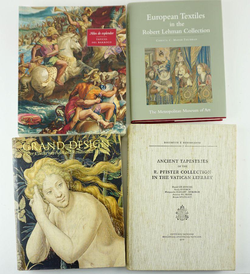 4 Livros sobre Tapeçaria