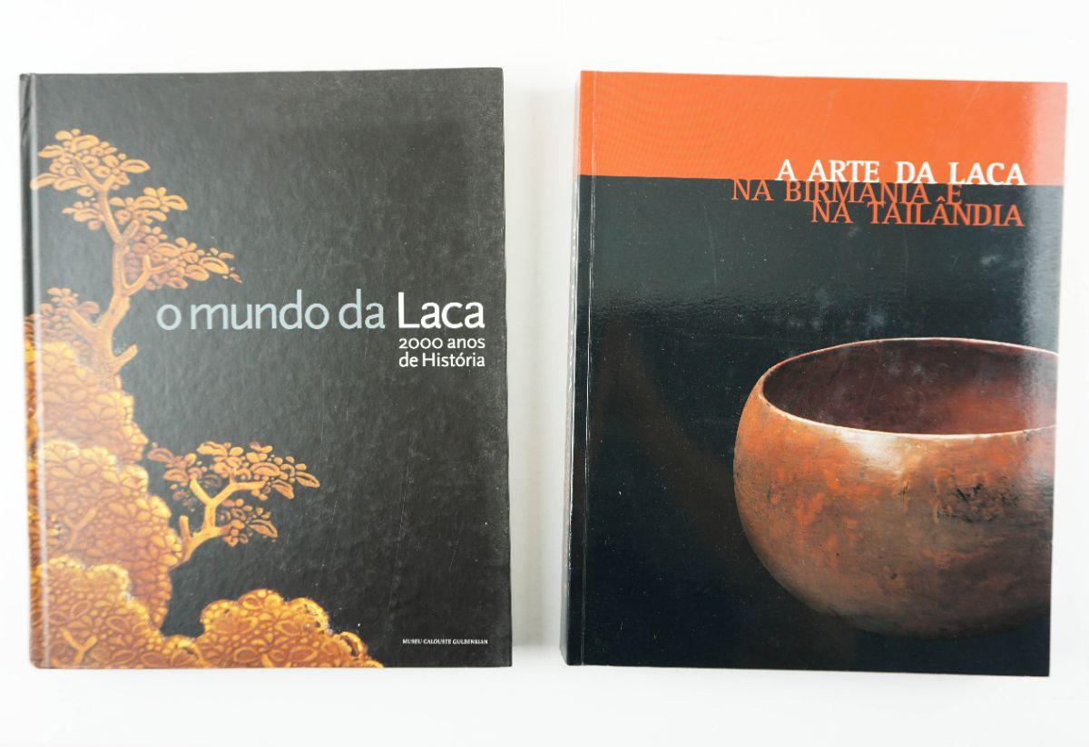 2 Livros sobre a Arte da Laca