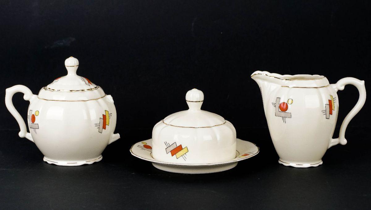 Serviço de Chá Art Deco
