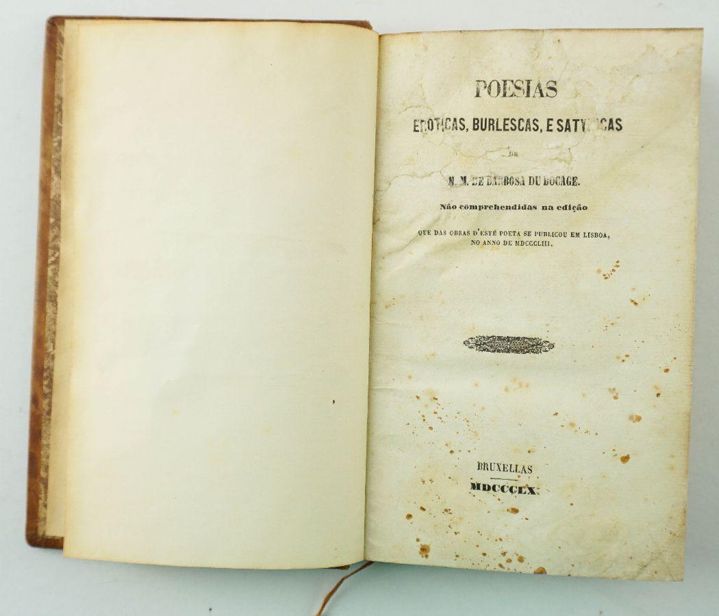 Poesias Erótticas, Burlescas e Satyricas
