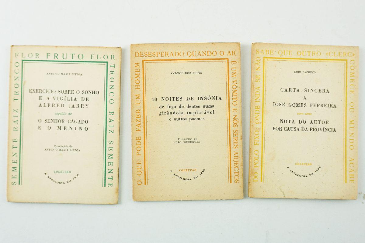 Conjunto da Colecção A Antologia em 1958