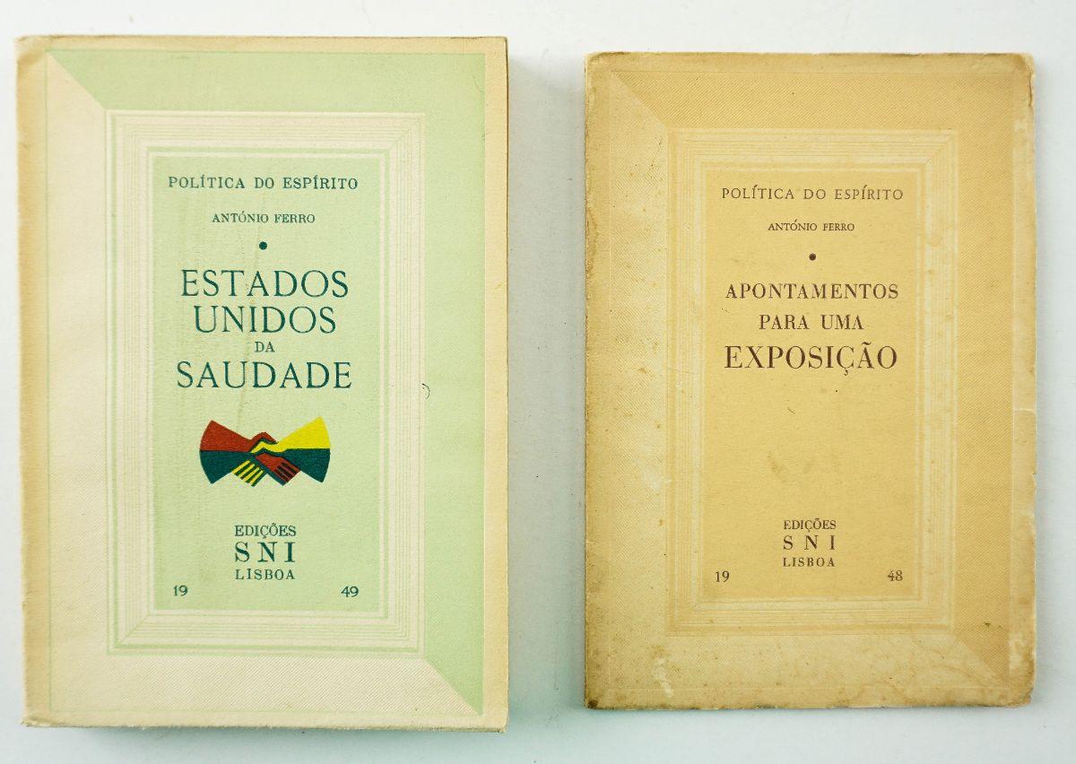 Conjunto invulgares de obras de António Ferro