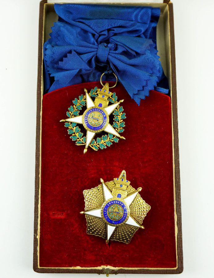 Ordem Militar da Torre e Espada.