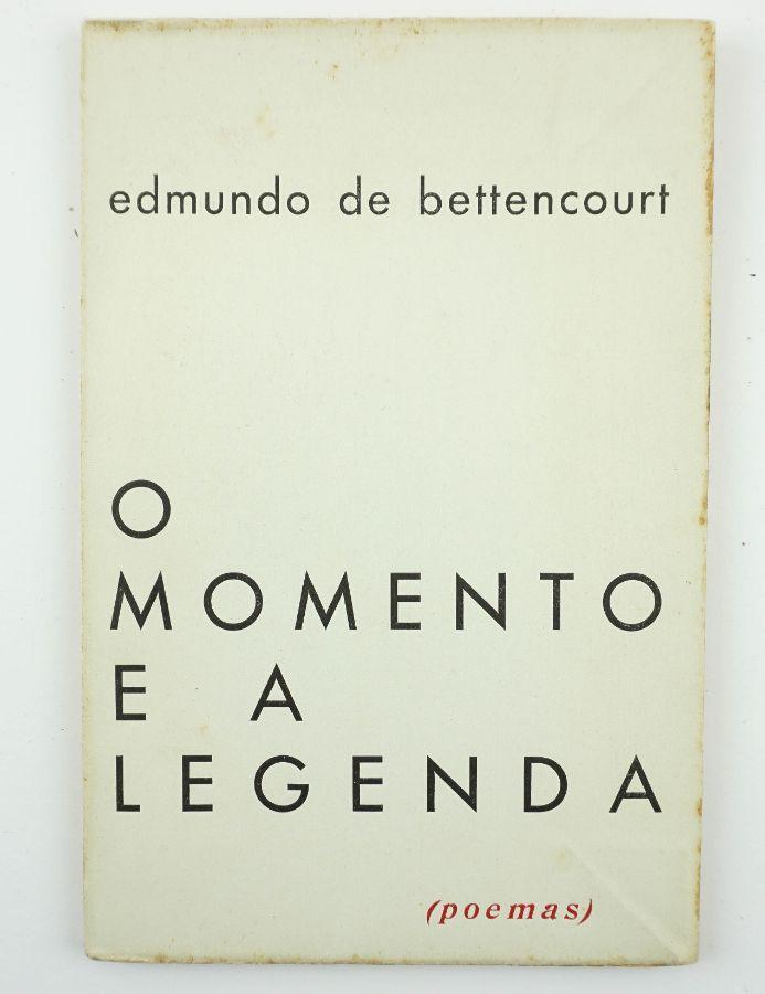 Edmundo de Bettencourt – primeiro livro do autor