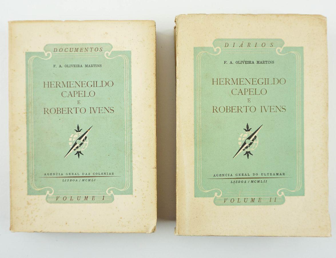 Hermenegildo Capelo e Roberto Ivens