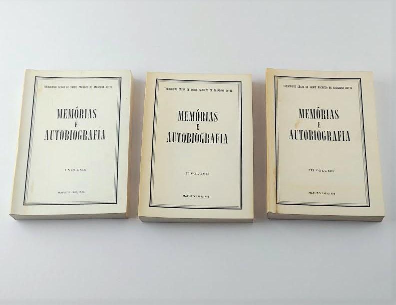Theodorico C. de S. P. de Sacadura Botte – Memórias e Autobiografia