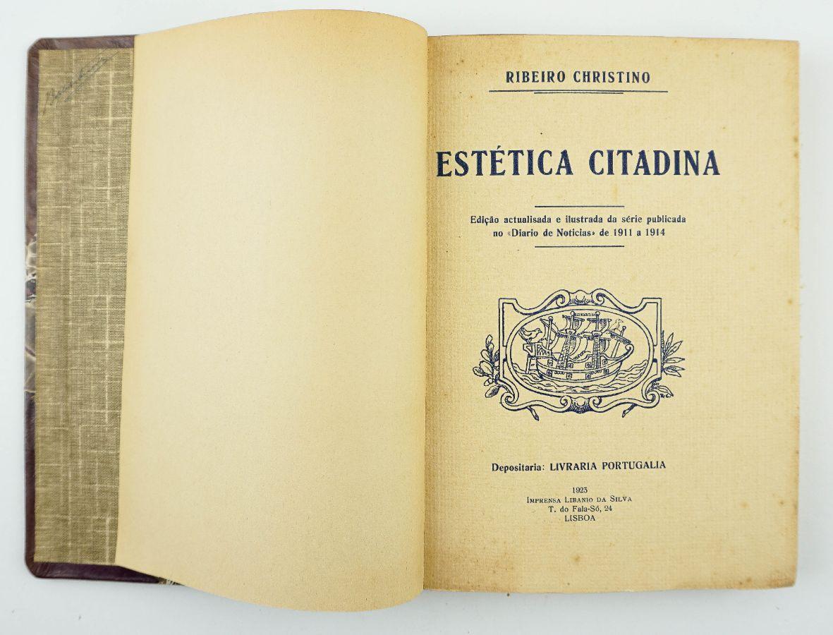 Ribeiro Christino - Estética Citadina - tiragem especial