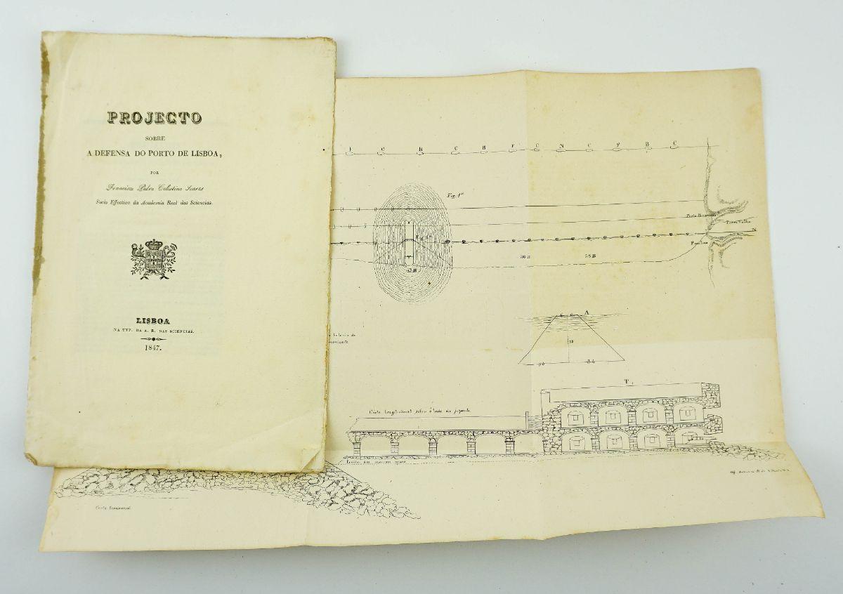 Projecto sobre a Defensa do Porto de Lisboa (1847)
