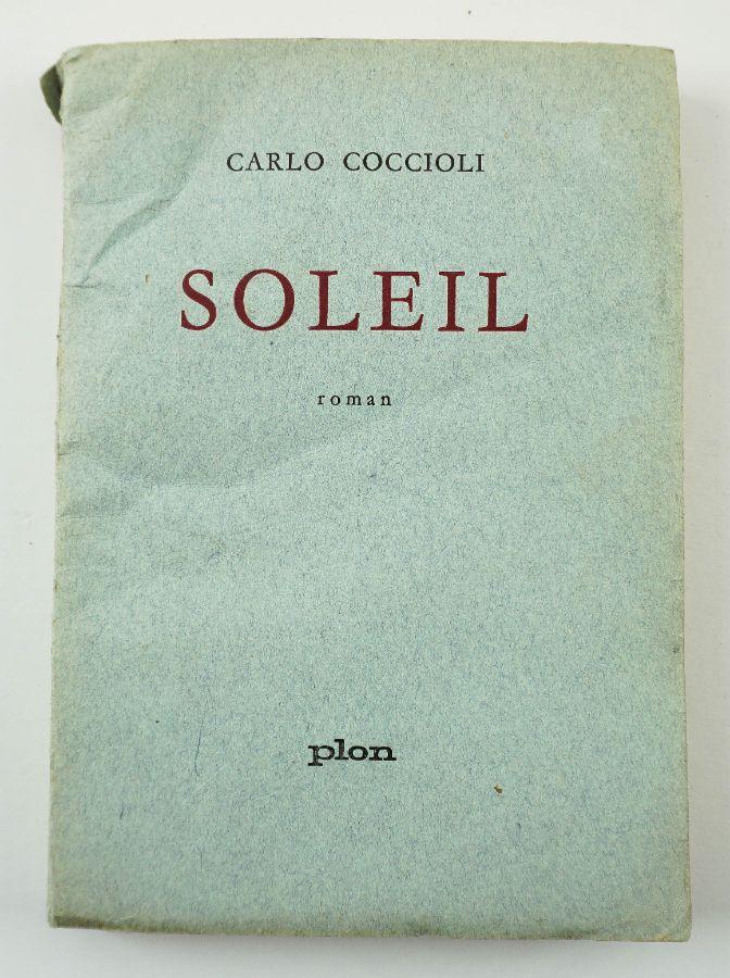 Carlo Coccioli – 1ª edição com dedicatória