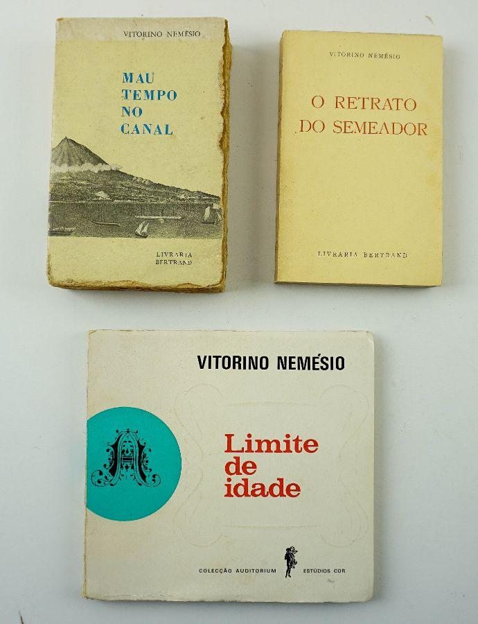 Vitorino Nemésio – Primeiras Edições e livros com dedicatória