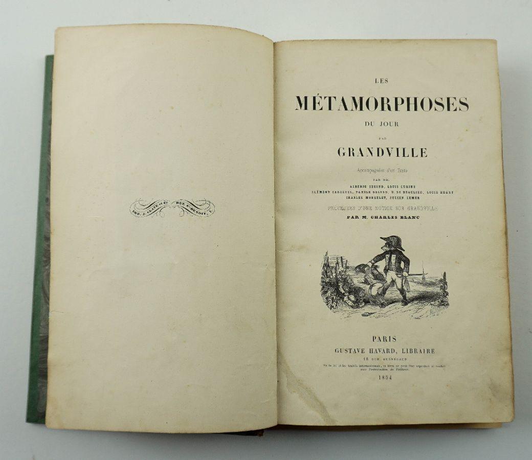Les Métamorphoses du jour – 1ª edição