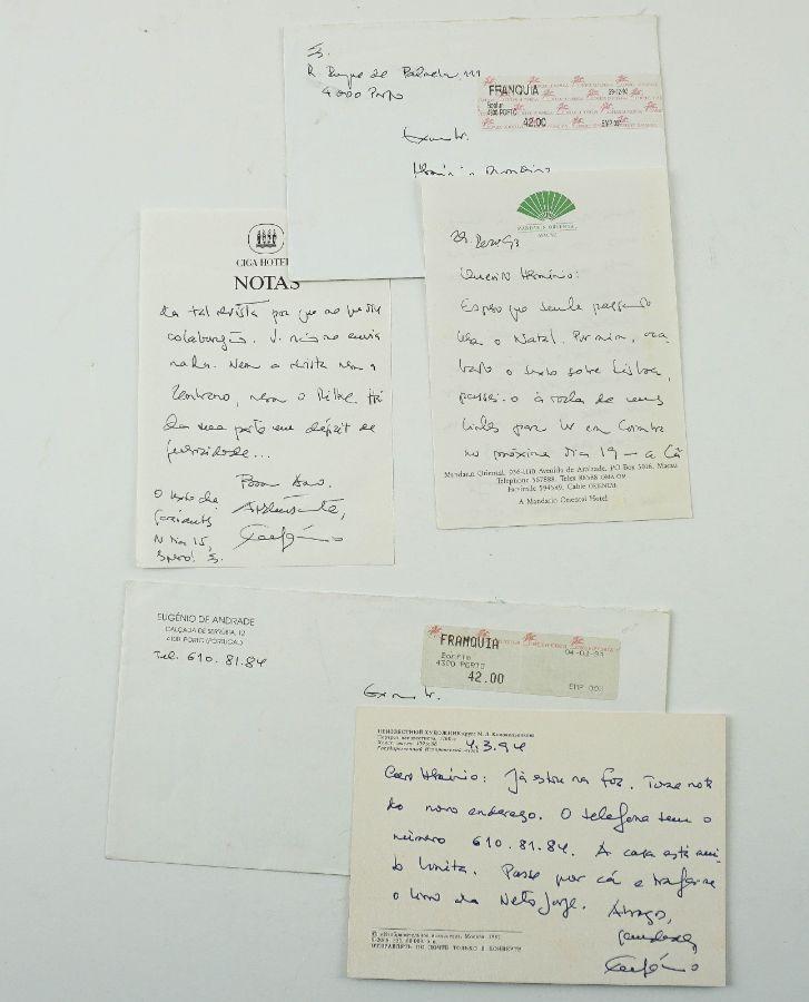 Eugénio de Andrade – manuscritos