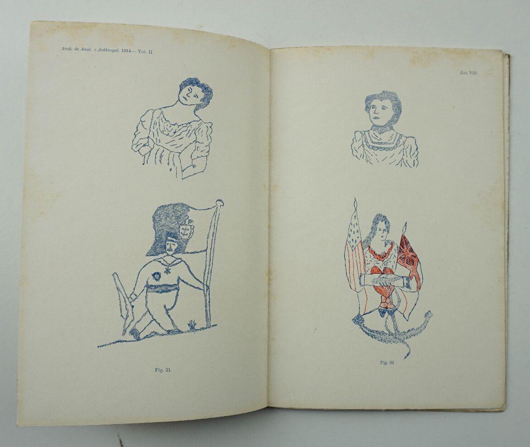Primeira Publicação Portuguesa para o Estudo da Tatuagem – 1914