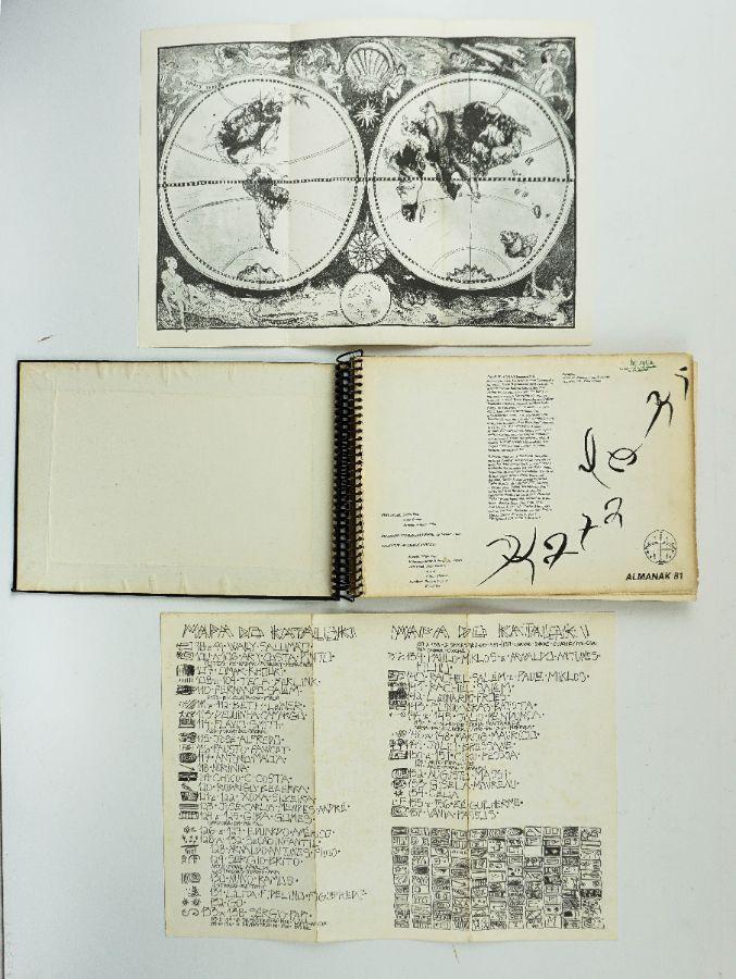 Importante obra de Poesia Visual e Concreta – Almanak 80