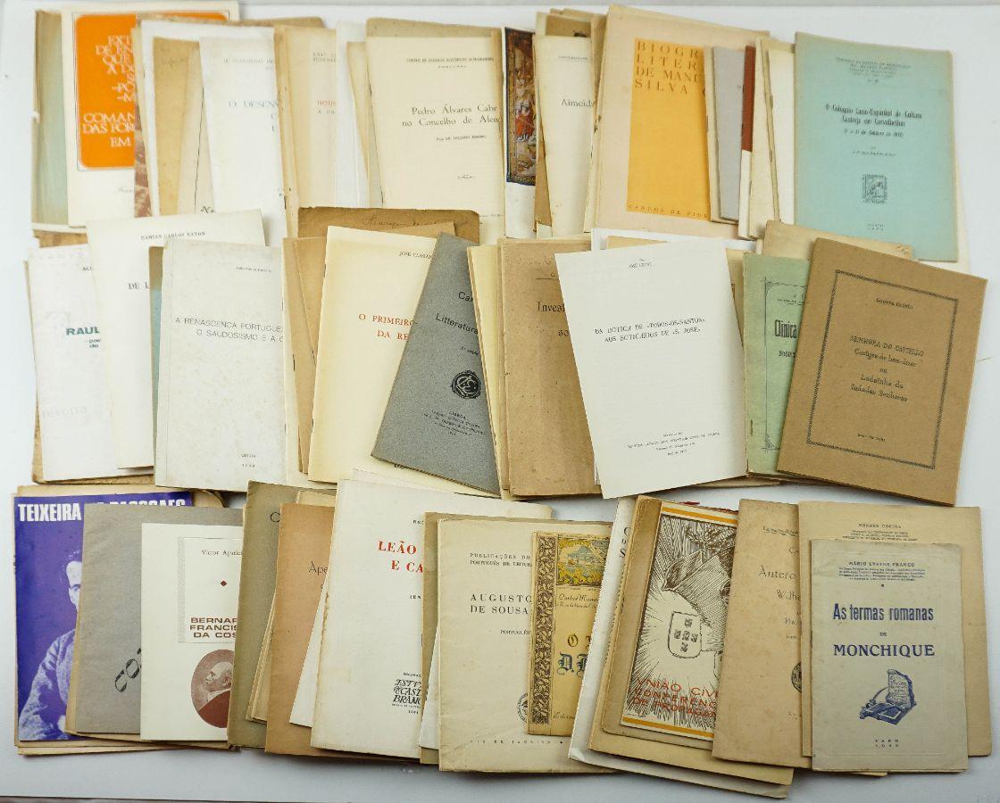Colecção de 108 de separatas e publicações