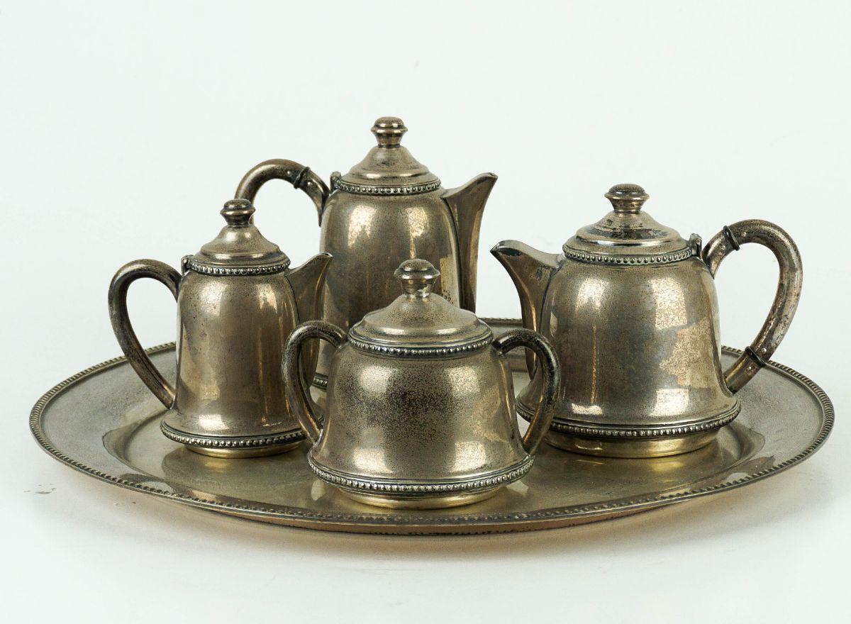 Serviço de Chá/Café com tabuleiro