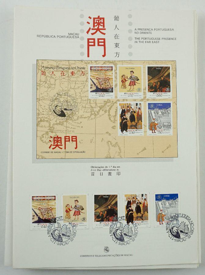 Filatelia - Macau - Pagelas