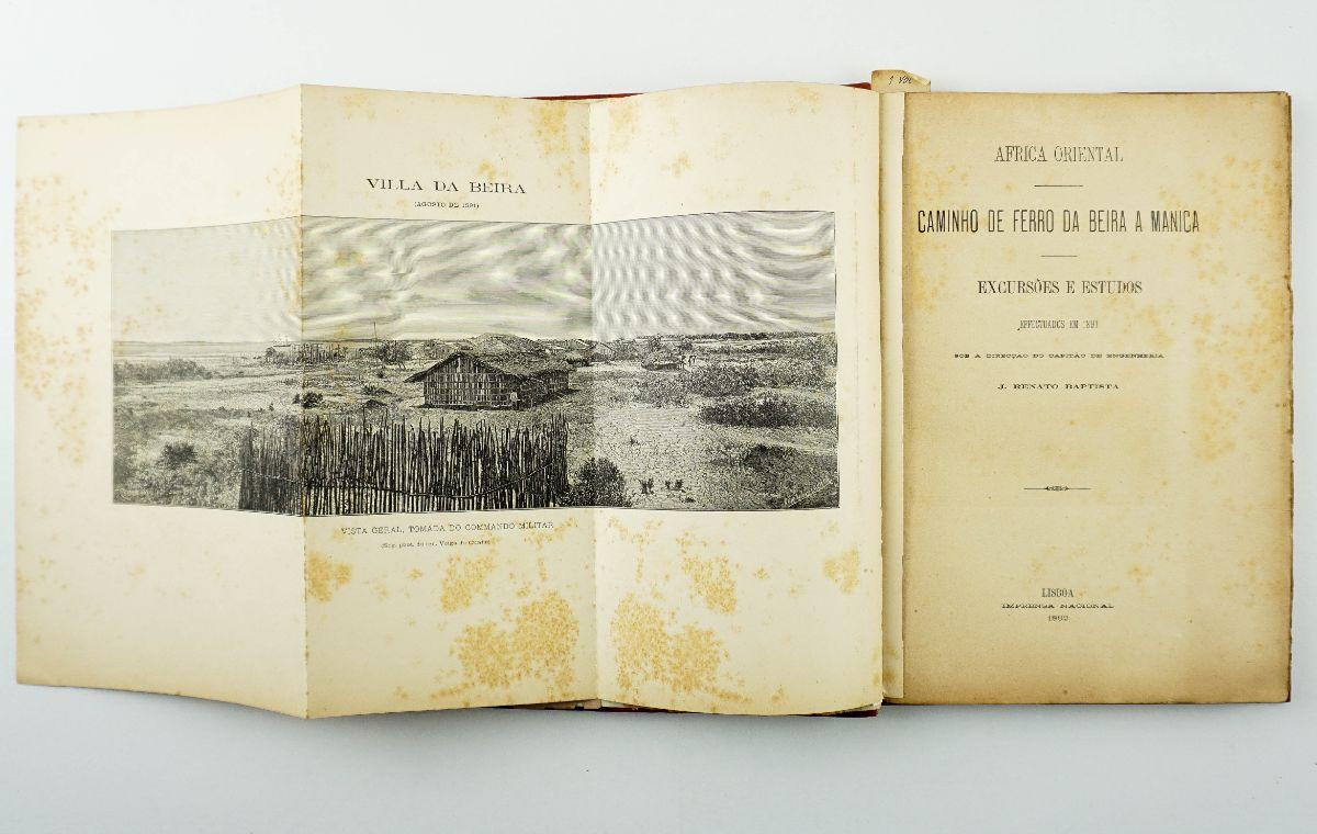 Caminho de Ferro da Beira a Manica – Africa Oriental 1891