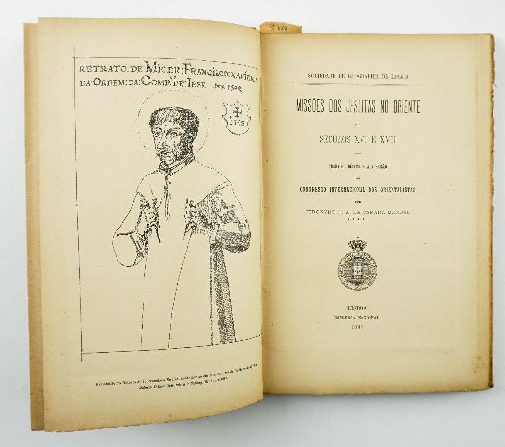 Missões dos Jesuítas no Oriente nos séculos XVI e XVII