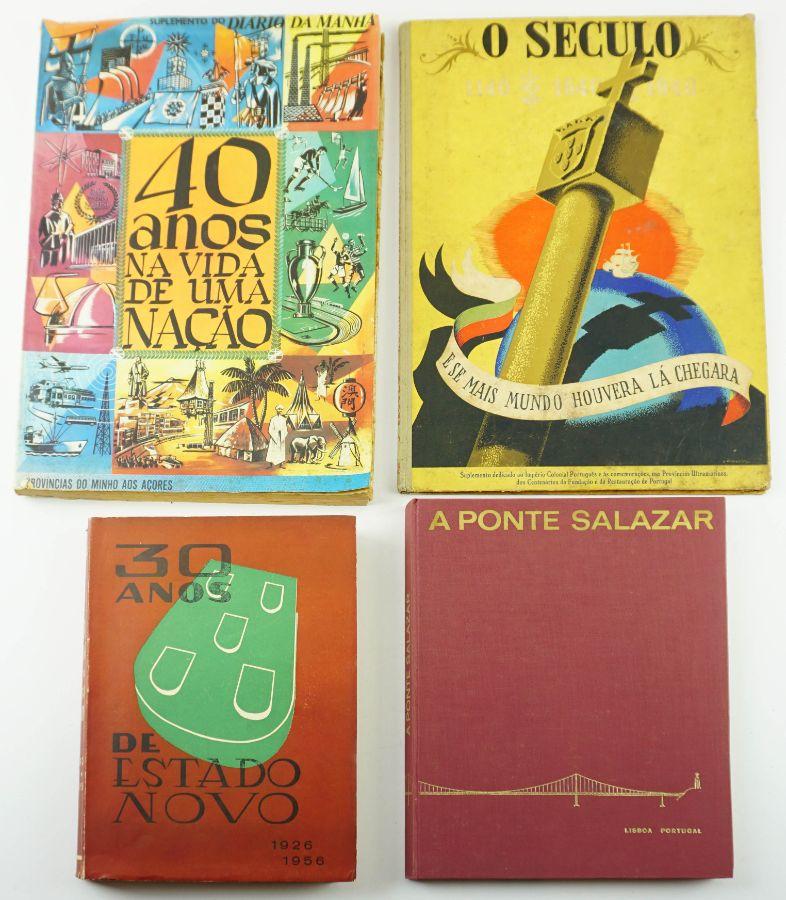 Propaganda Estado Novo – 4 publicações