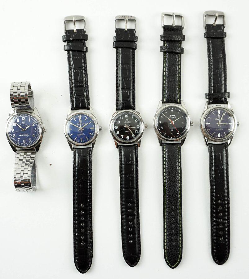 5 Relógios Mecânicos Vintage