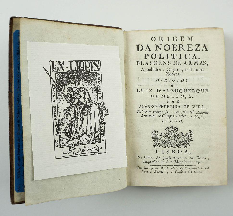 Origem da Nobreza Política (Edição de 1791)