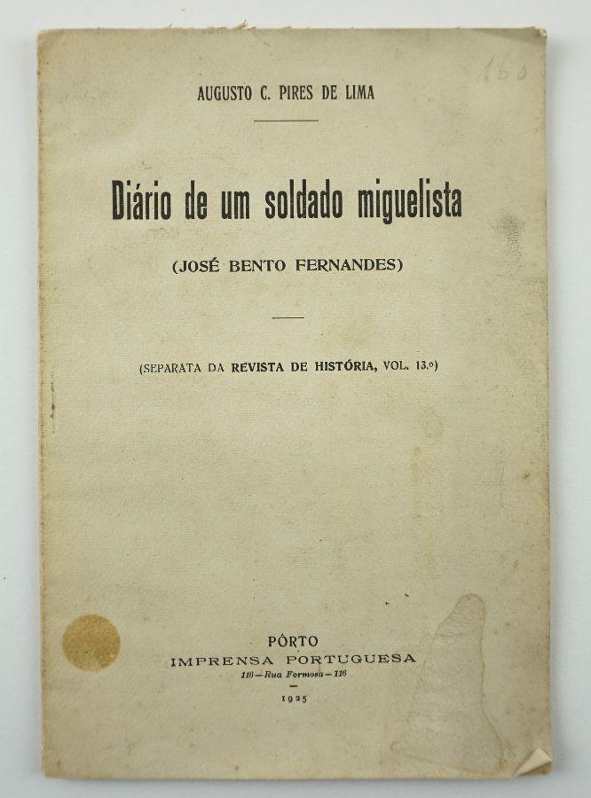 Diário de um soldado miguelista