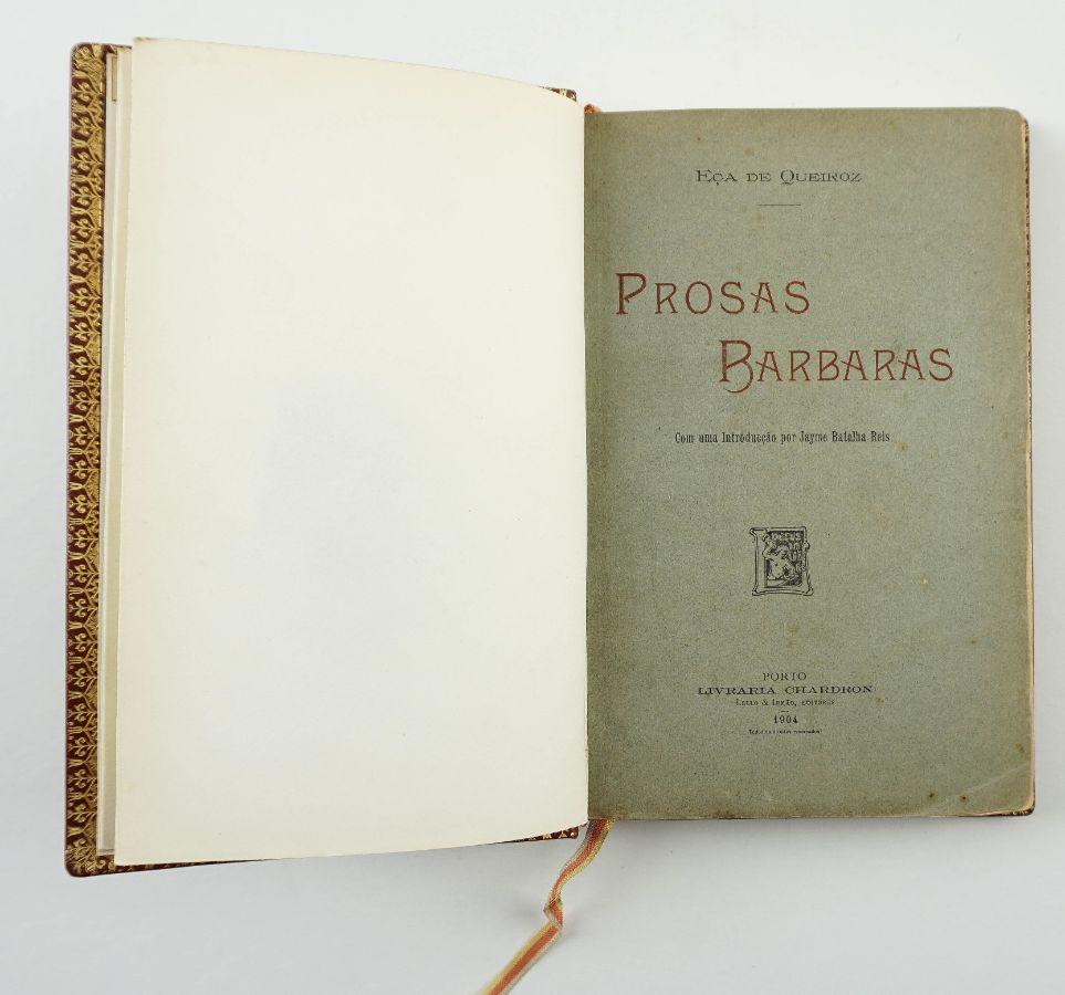 Prosas Barbaras