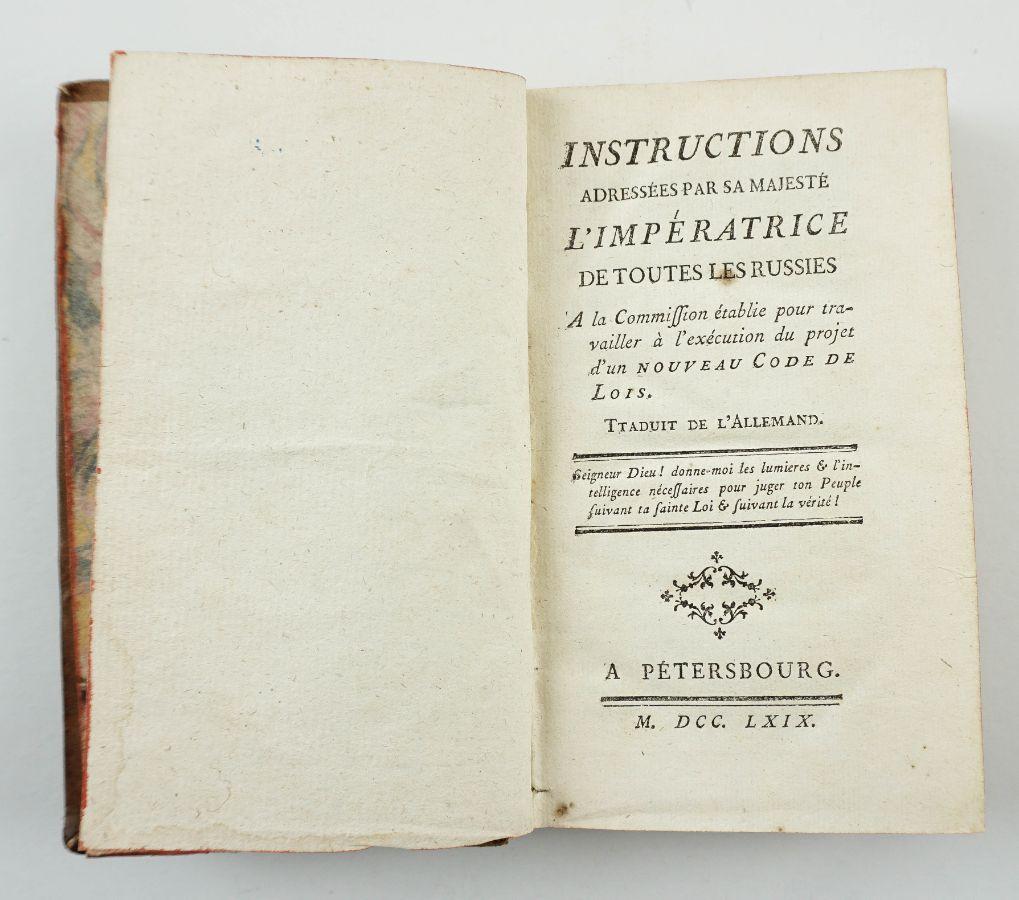 Código de Catarina II da Rússia (1769)