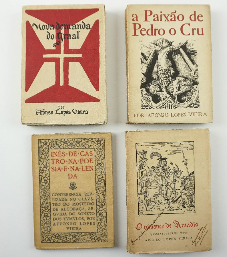 Conjunto de livros de Afonso Lopes Vieira