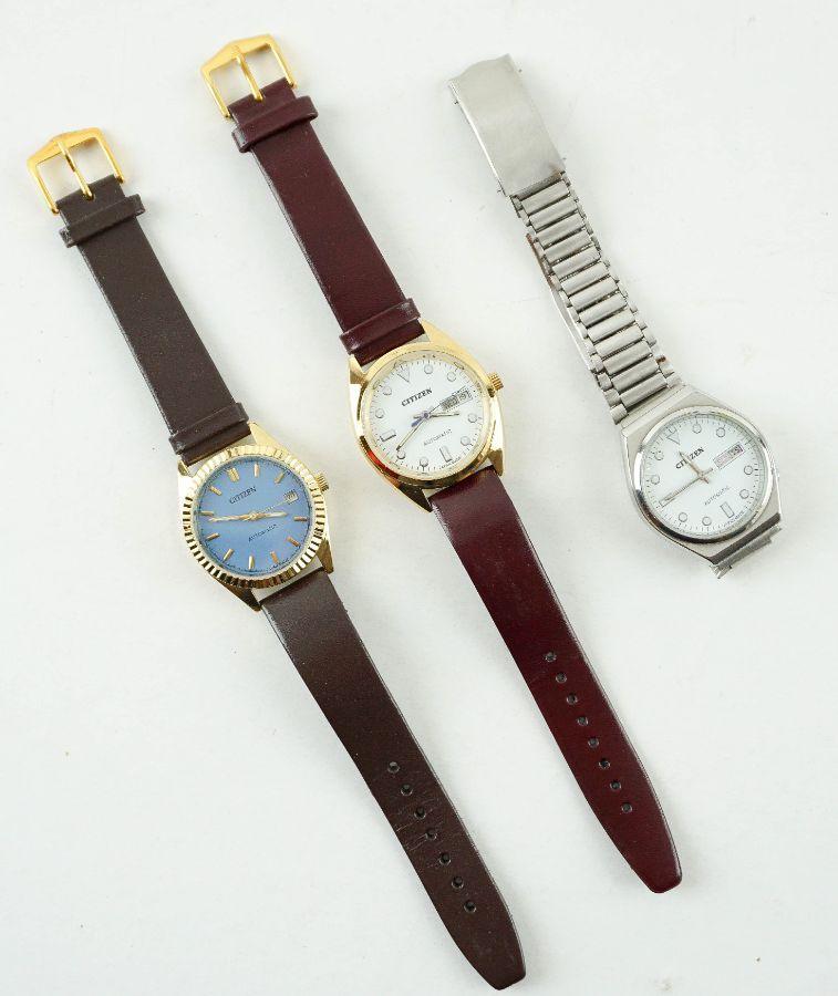 3 Relógios Automáticos