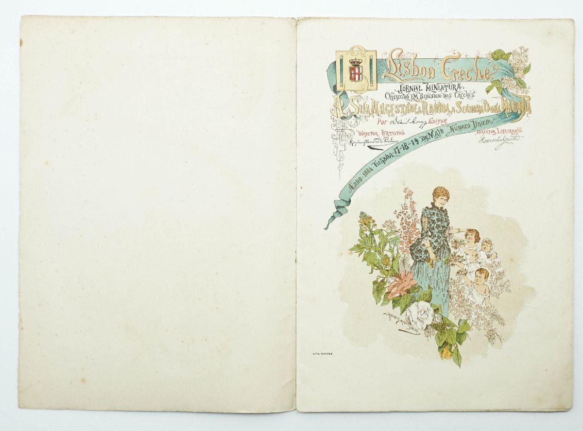 Rafael Bordalo Pinheiro – Lisboa Creches (1884)