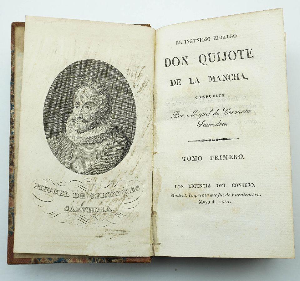 Cervantes – D. Quixote (1832)