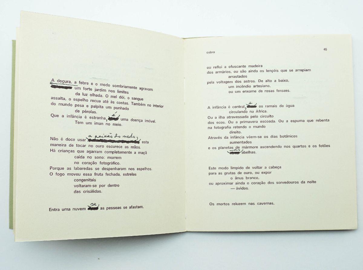 Herberto Helder - com dedicatória e notas manuscritas