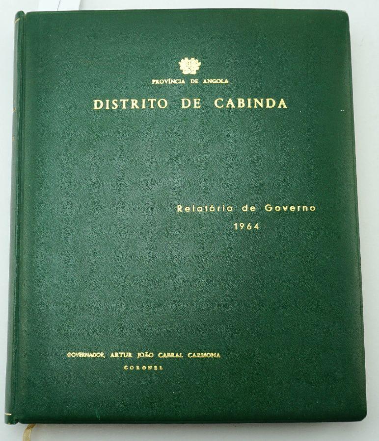 Distrito de Cabinda - Relatório de Governo (1964)