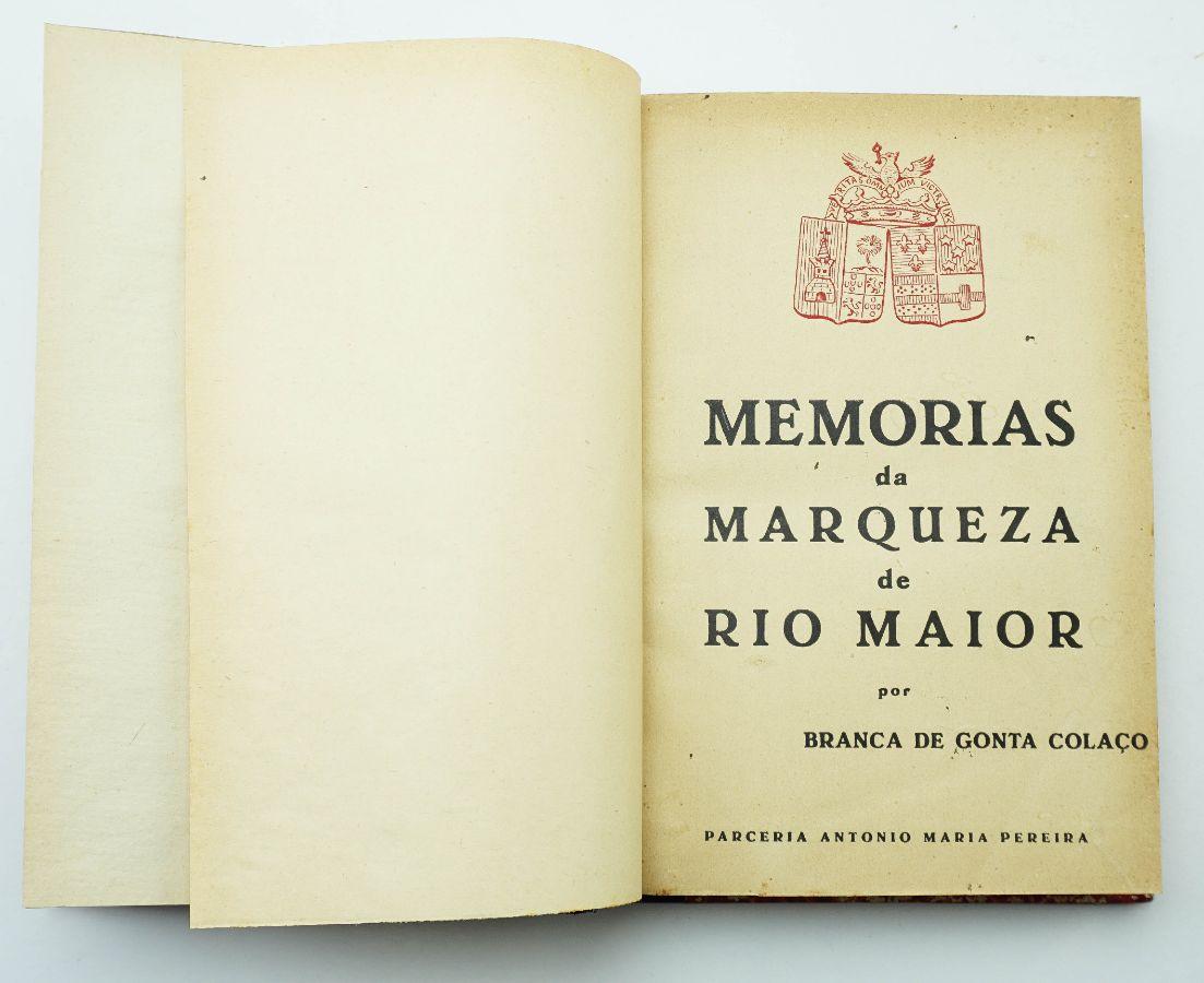 Memórias da Marqueza de Rio Maior