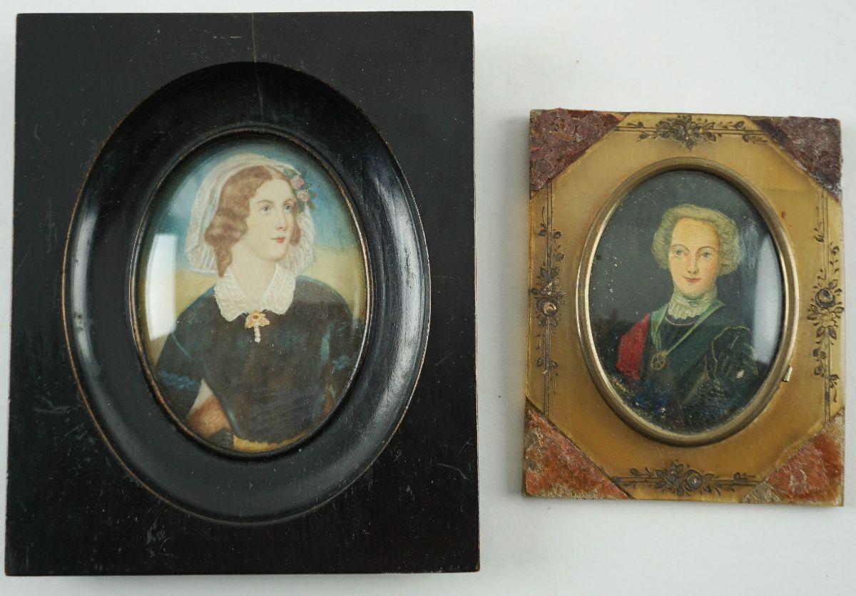 Retratos miniaturas