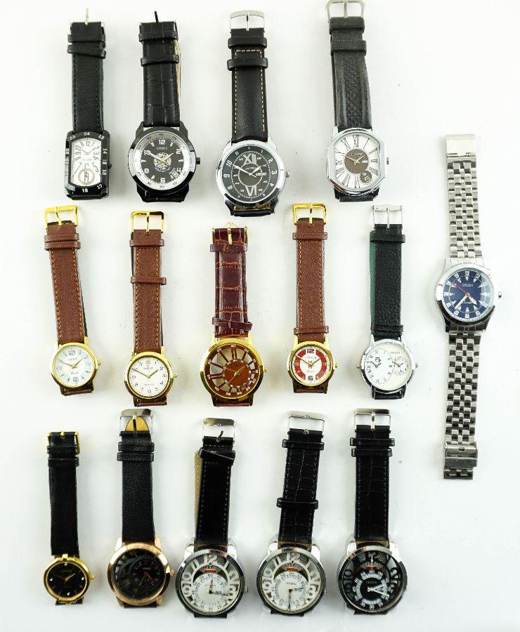 15 Relógios de quartz