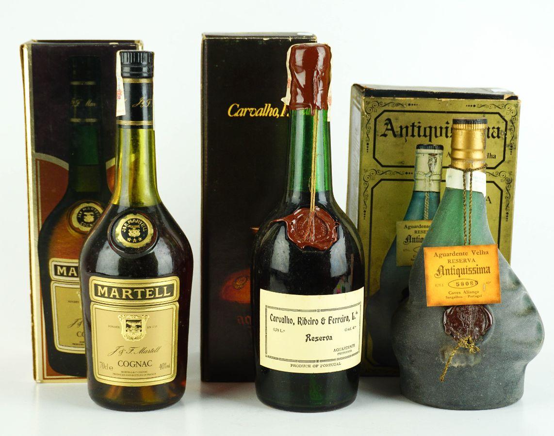 Aguardente e Cognac