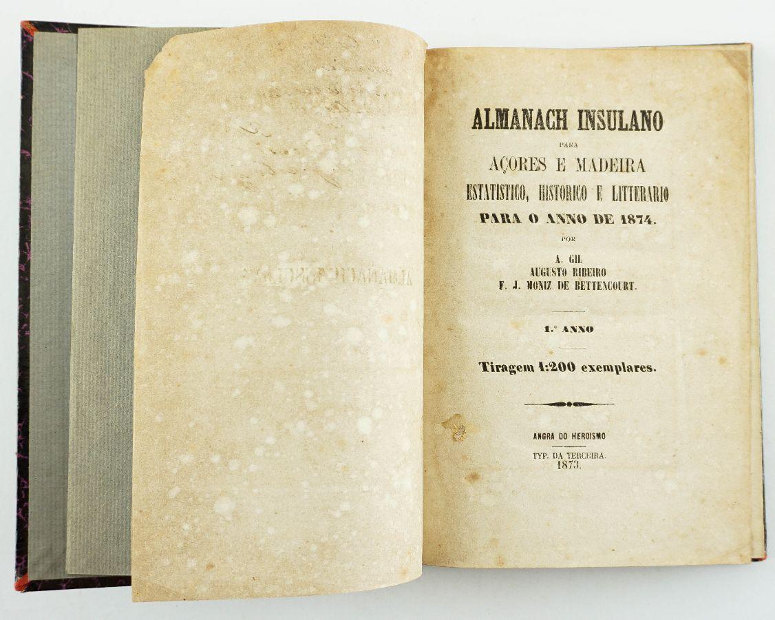 Almanach Insulano para Açores e Madeira